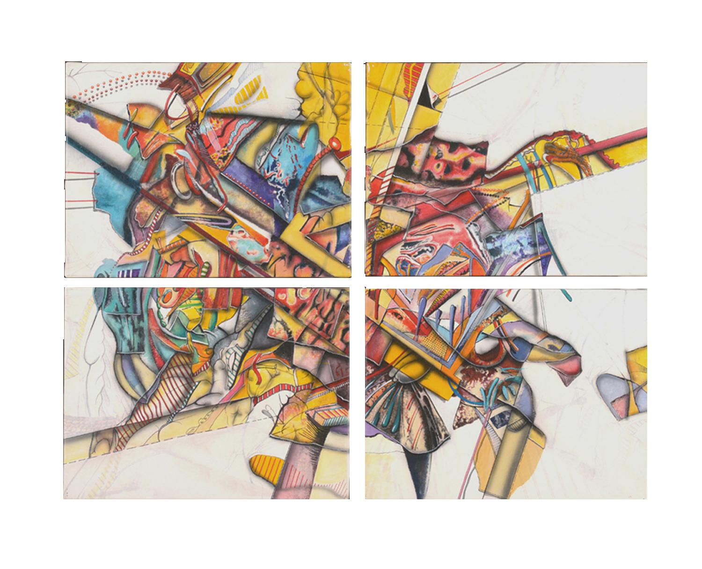 1988  Paradox I (4 pieces) - $9,000
