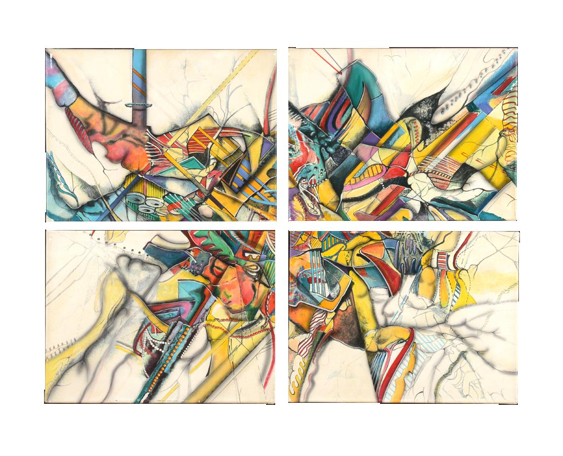 1989 Paradox II (4 pieces) - C$9,000