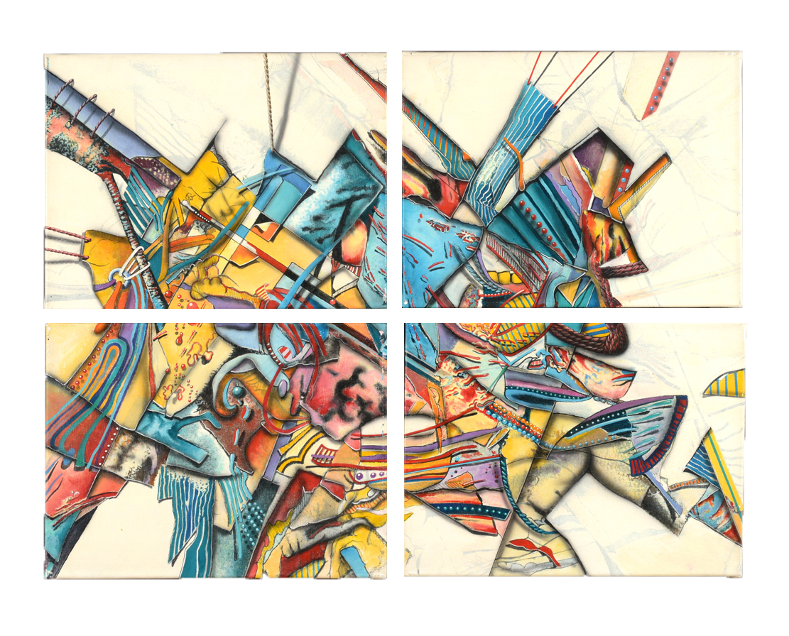 1989 Paradox IV (4 pieces)  - $9,000