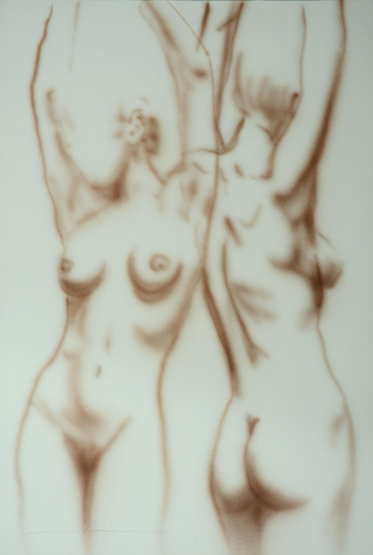 1990 4 Nude - $1,500