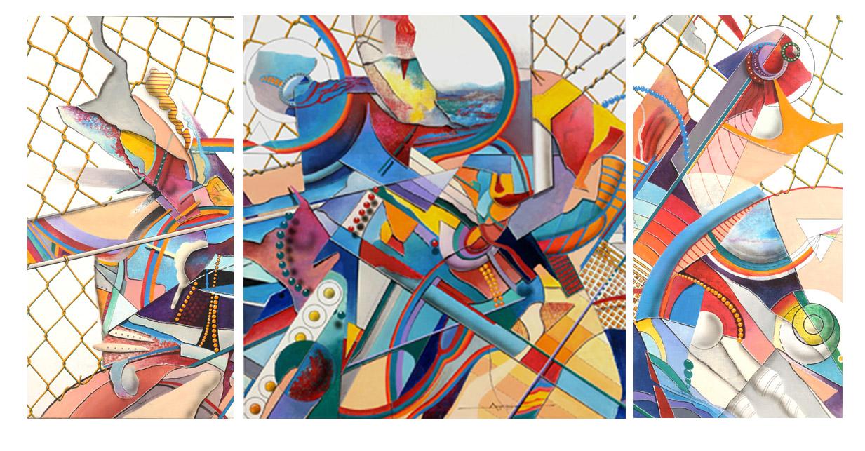2012 Golden Cage (3 pieces) - $15,000